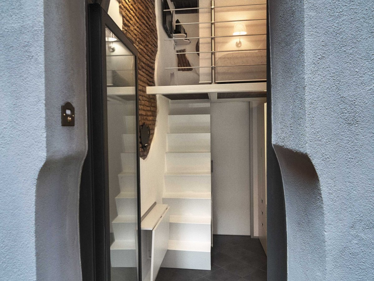 Квартира площадью 7 квадратных метров в Риме