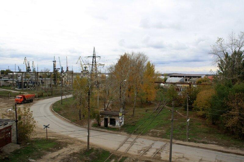 Изолятор №1 и мост 455.JPG