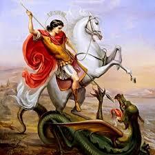Открытки. 6 мая - день памяти Святого великомученника Георгия Победоносца