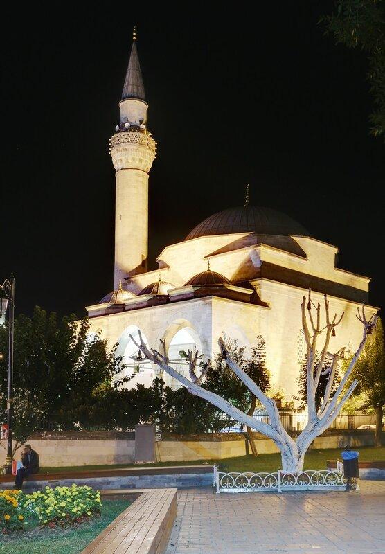 Ночной Стамбул. Мечеть Фируз Ага (Firuz Ağa Camii)