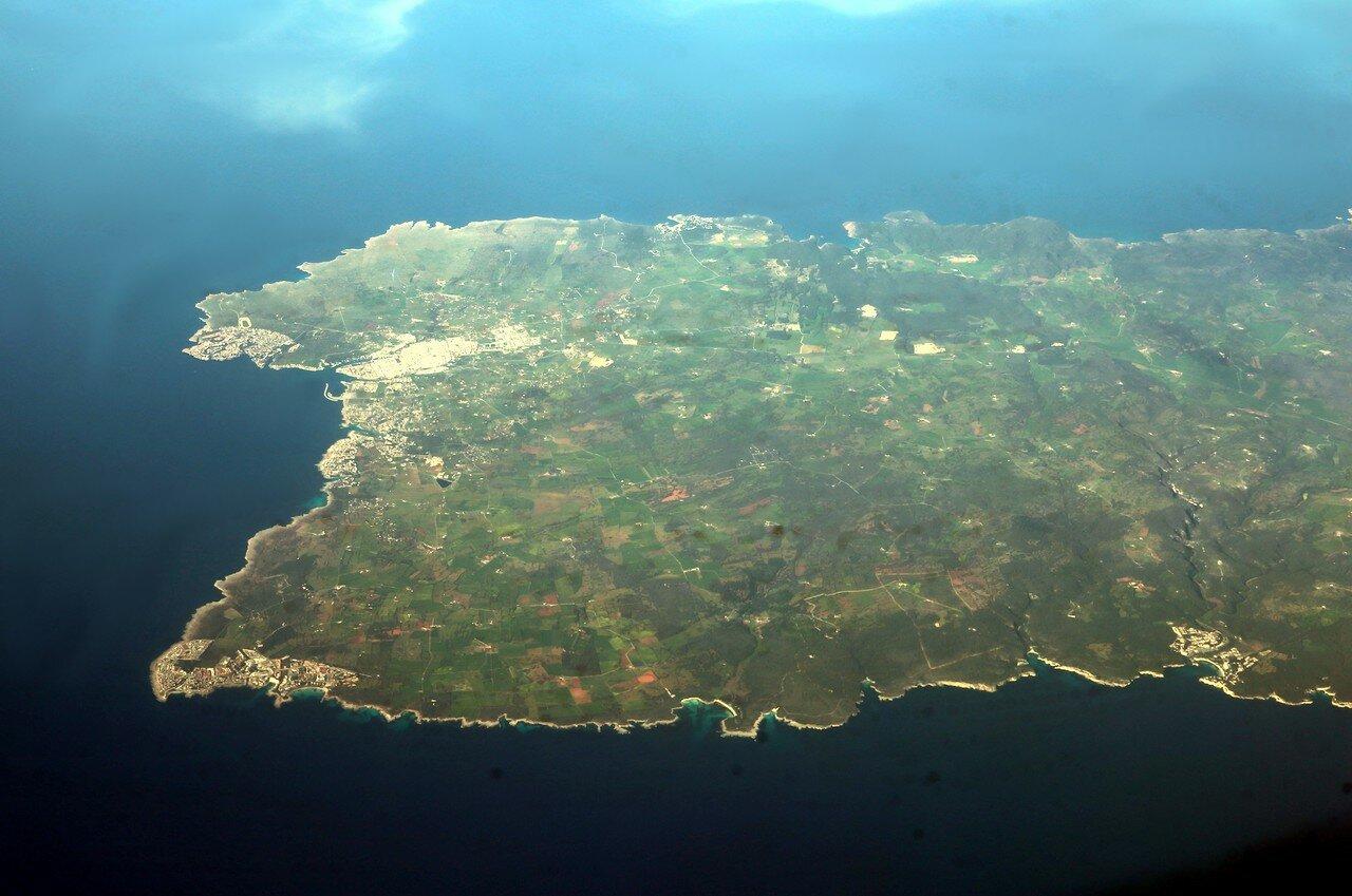 Ciutadella de Menorca. Aerial view