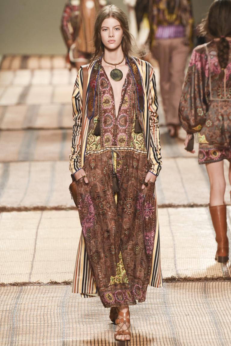 Неделя моды в Милане: Etro весна 2017