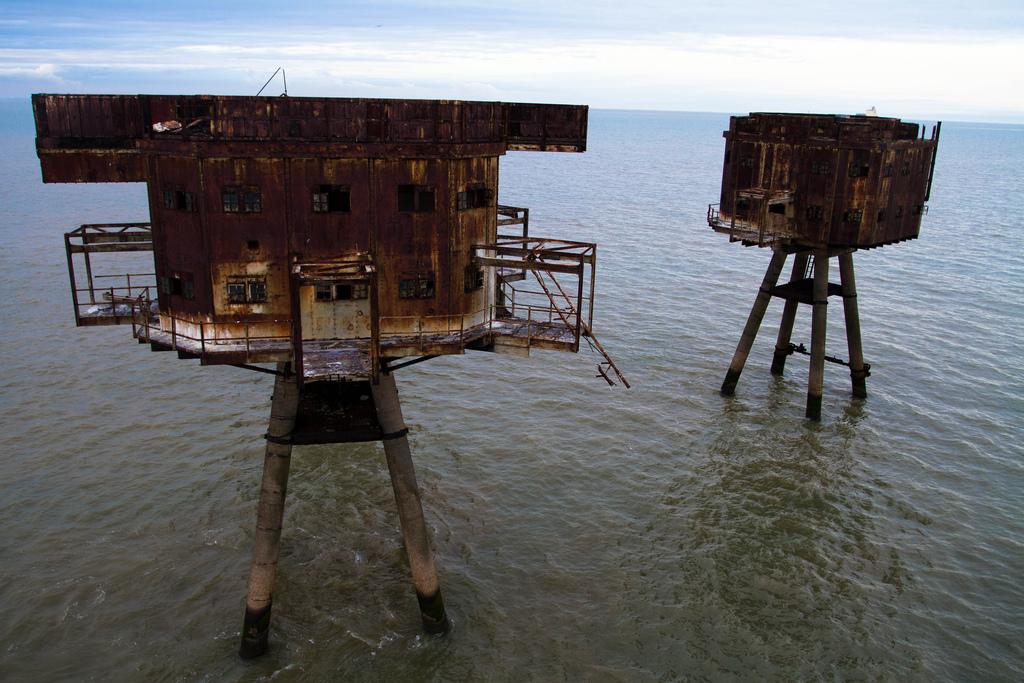 17. Проект Redsand был призван восстановить башни