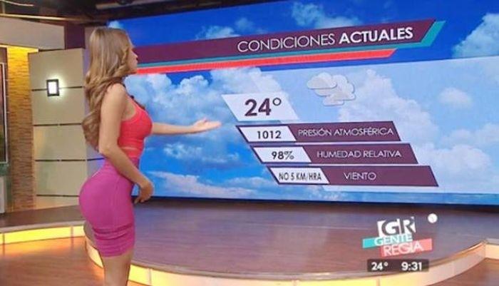 Ведущая прогноза погоды Янет Гарсия покорила сердца миллионов зрителей (33 фото) 18+