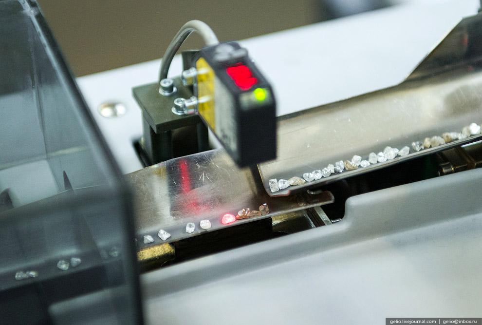 Форму, качество и цвет кристаллов определяют оценщики при помощи луп и микроскопов. Через специ