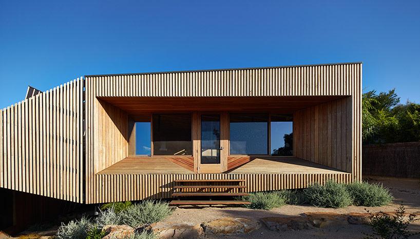 Дом на неравномерном ландшафте в Австралии
