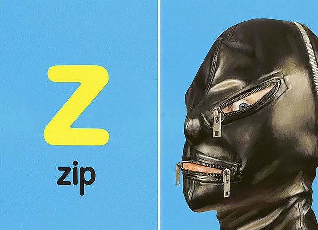 Z — zip (молния).