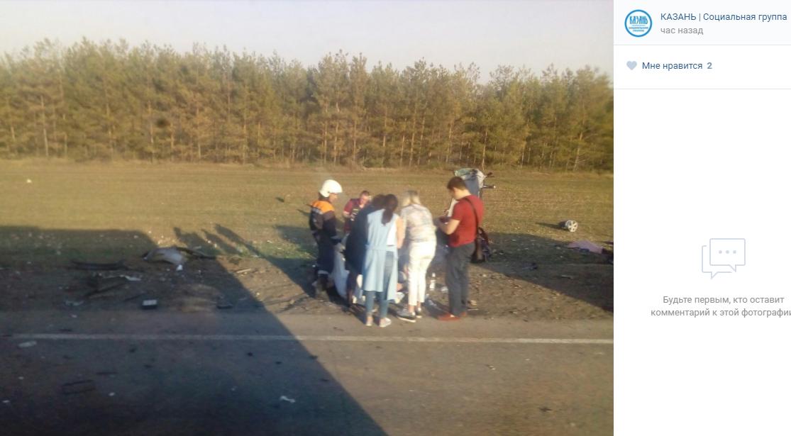 ДТП вТатарстане: погибли 5 человек