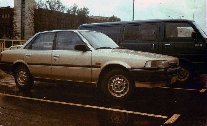 06 Москва 1987 август img16432 Toyota Camry.jpg