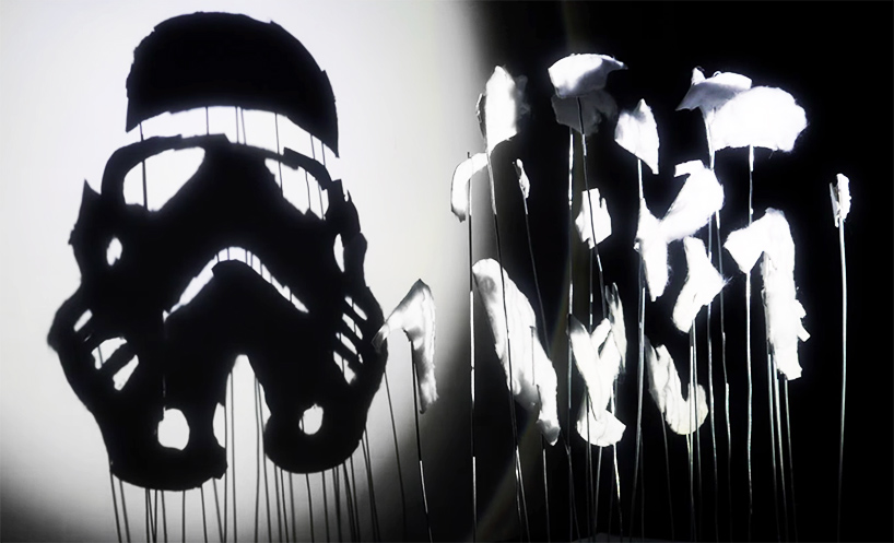 Star Wars Shadow Art