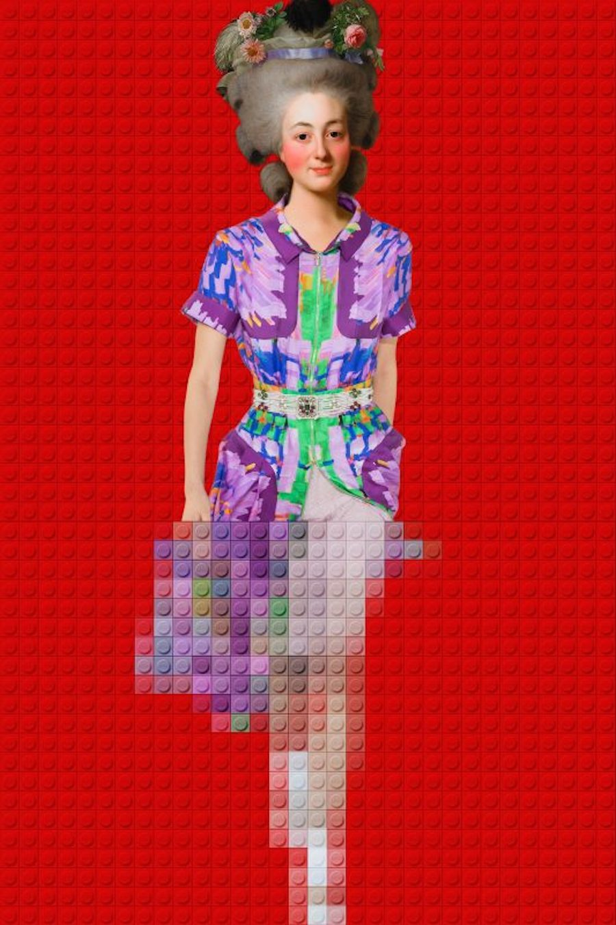 Dazzling Mix of LEGO and Fashion