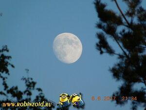 летняя Луна