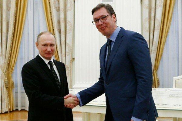 Сербия, Россия, Александр Вучич, Путин, визиты