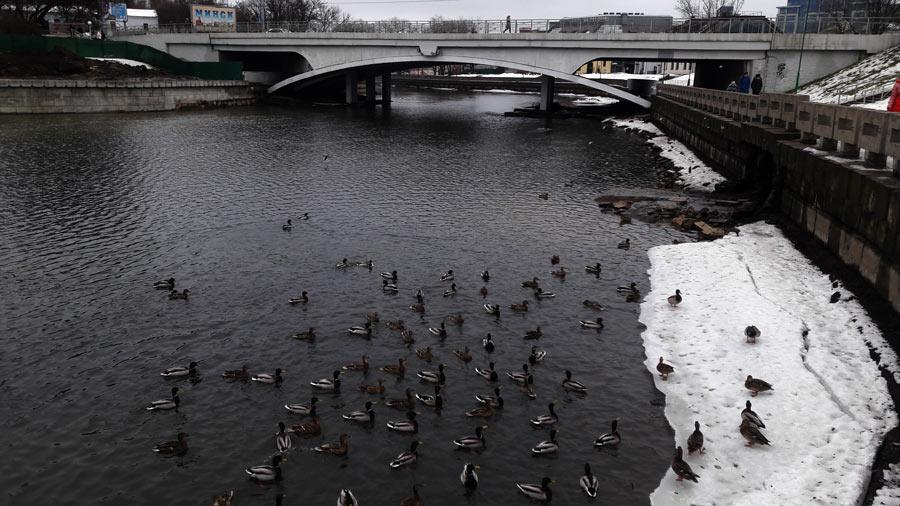 Минск, набережная Свислочи