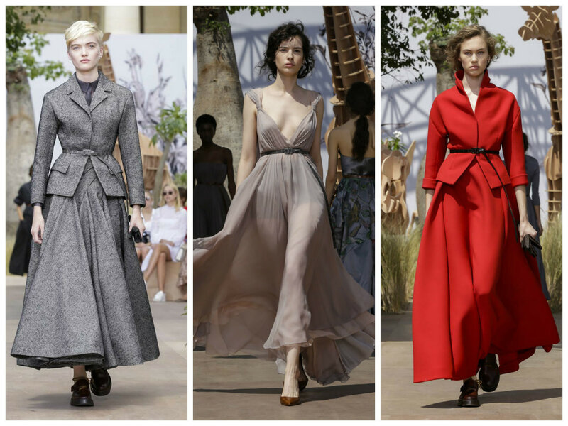 Christian Dior Haute Couture осень-зима 2017-2018