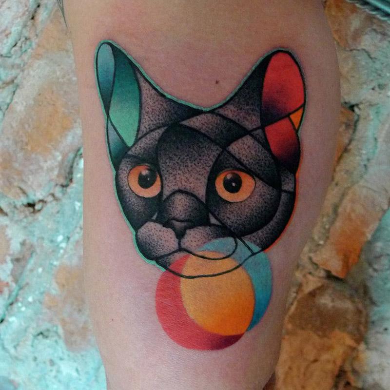 Conheca as tattoos de Mariuz Trubisz