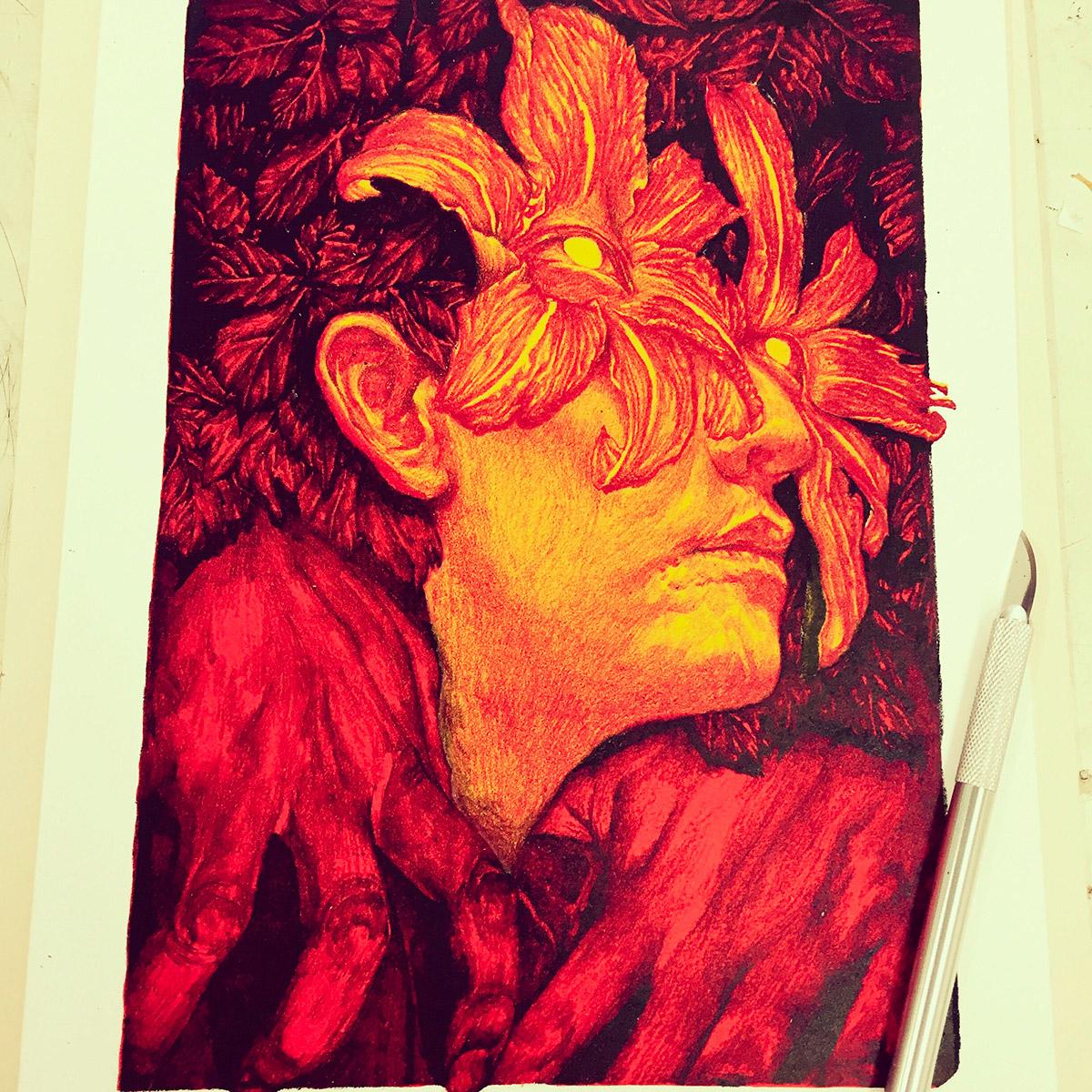 Dark Illustrations by So PineNut