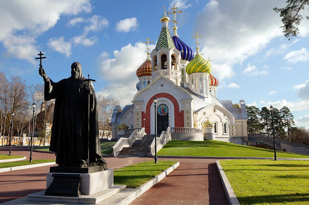 Россия. Храм Спасителя Преображения в Переделкино-2
