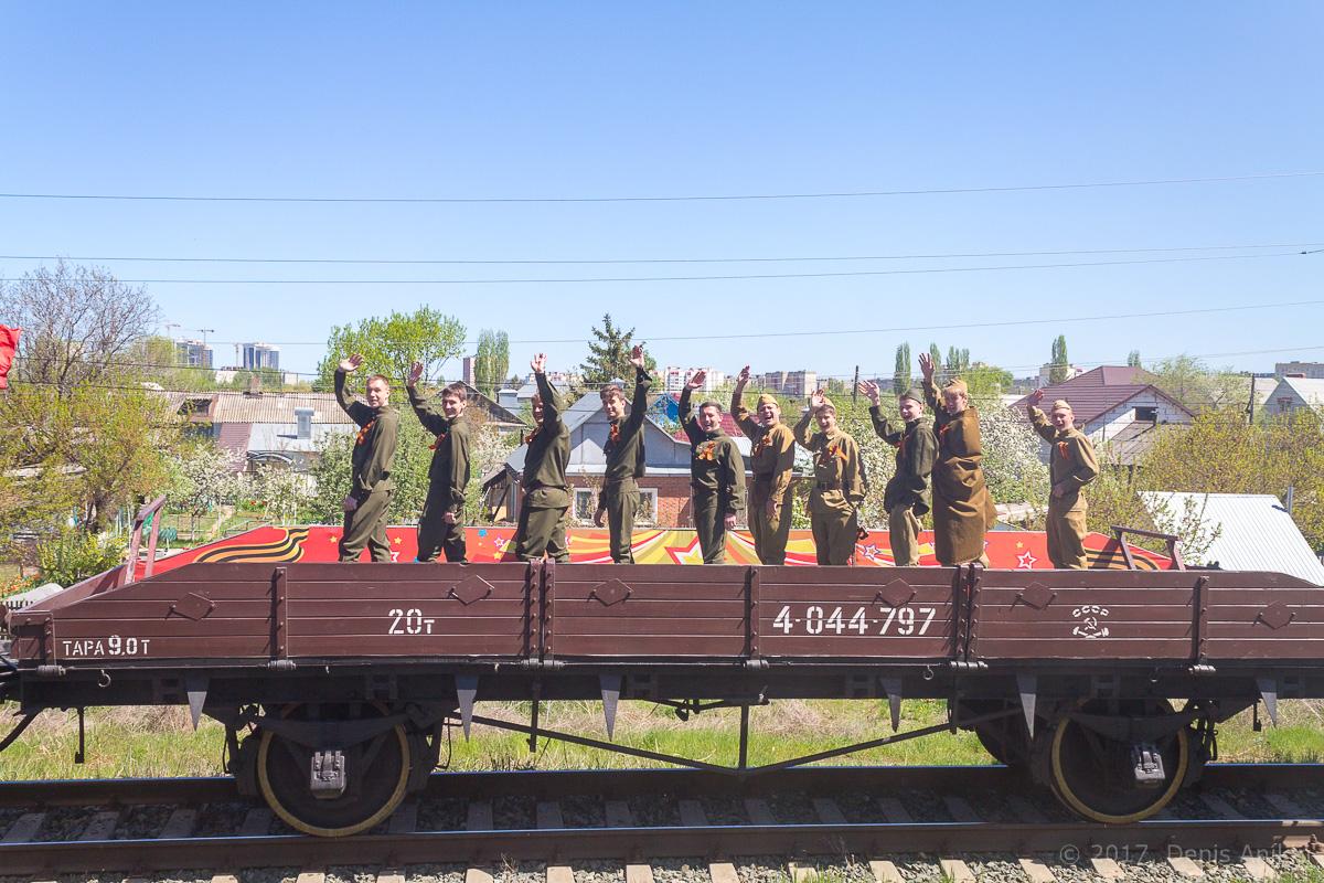 Ретро-поезд Победа фото 9