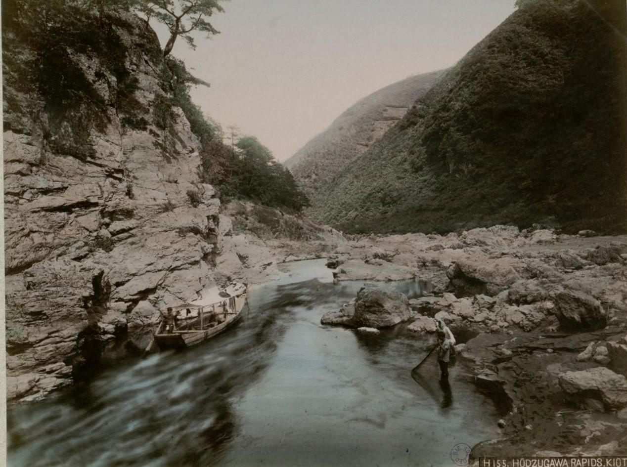 Окрестности Киото. Река Хадзугава