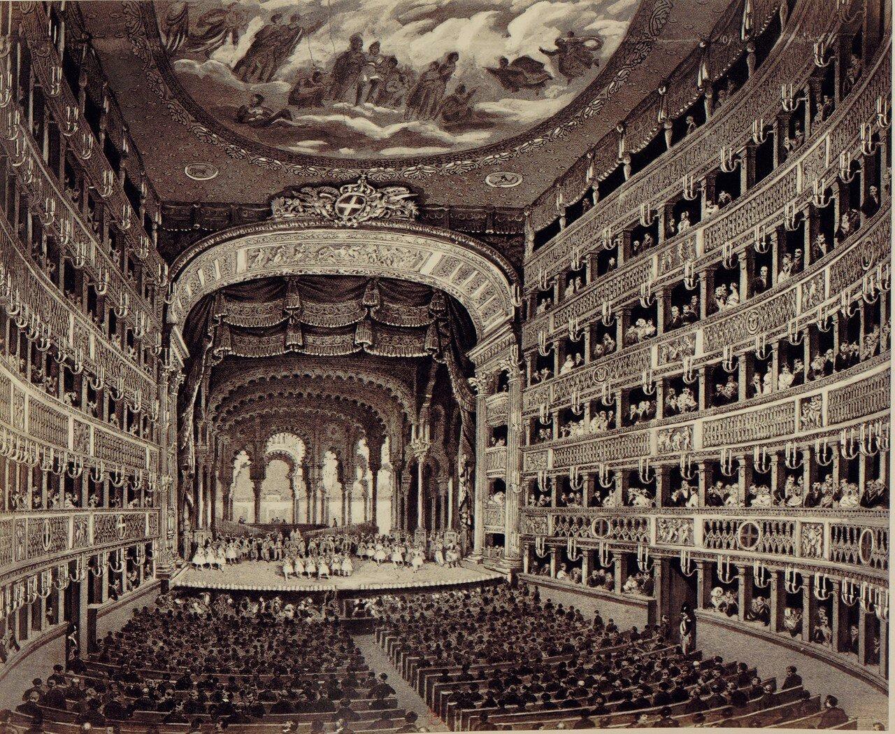47. Внутри театра Сан-Карло