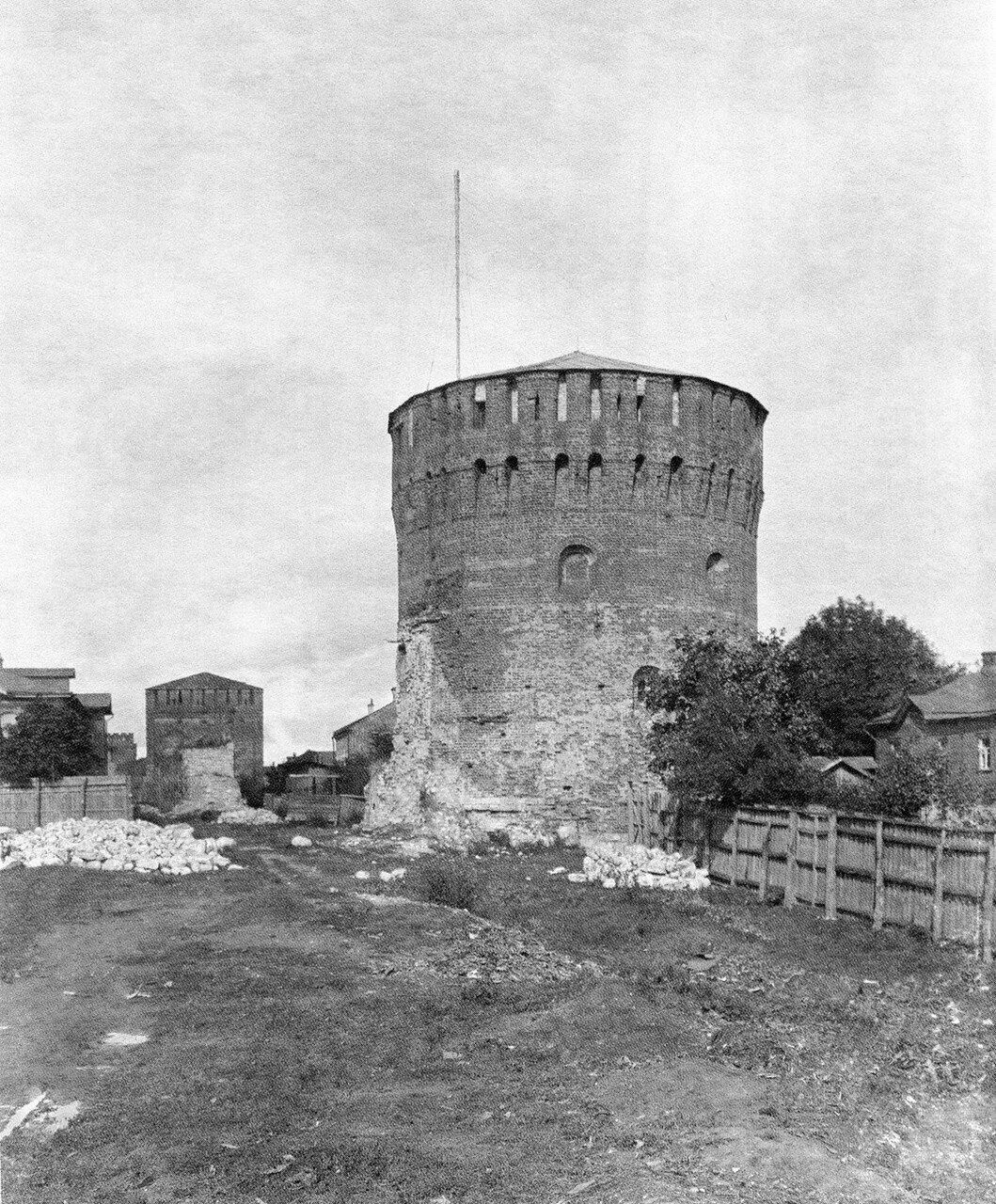 Евстафьевская и Никольская башни. 1905