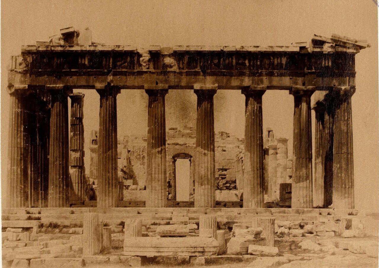 39. Афины.  Парфенон. Вид с севера