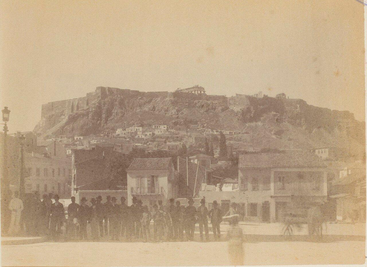 114. Афины. Вид на Акрополь