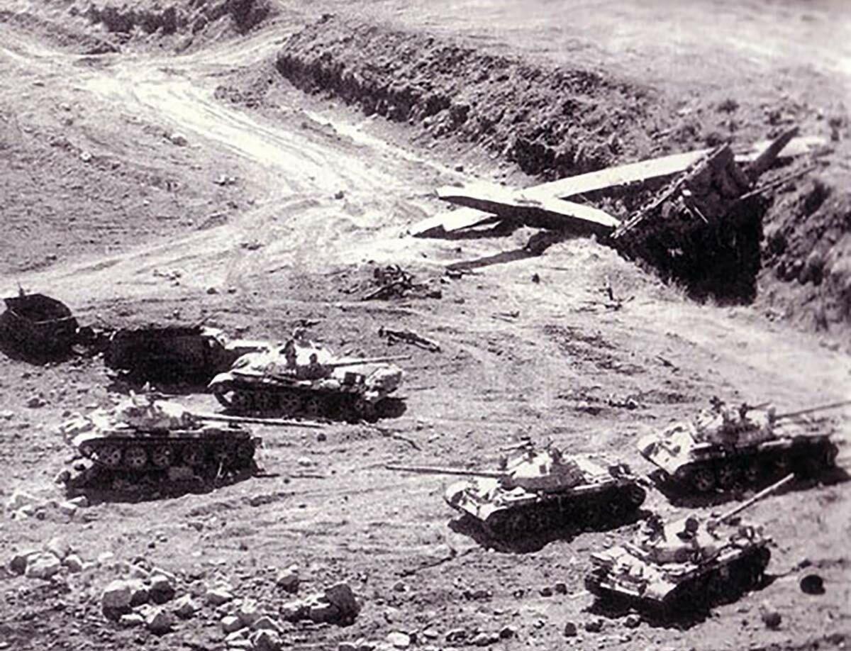 Танковое сражение в Долине слез на Голанских высотах