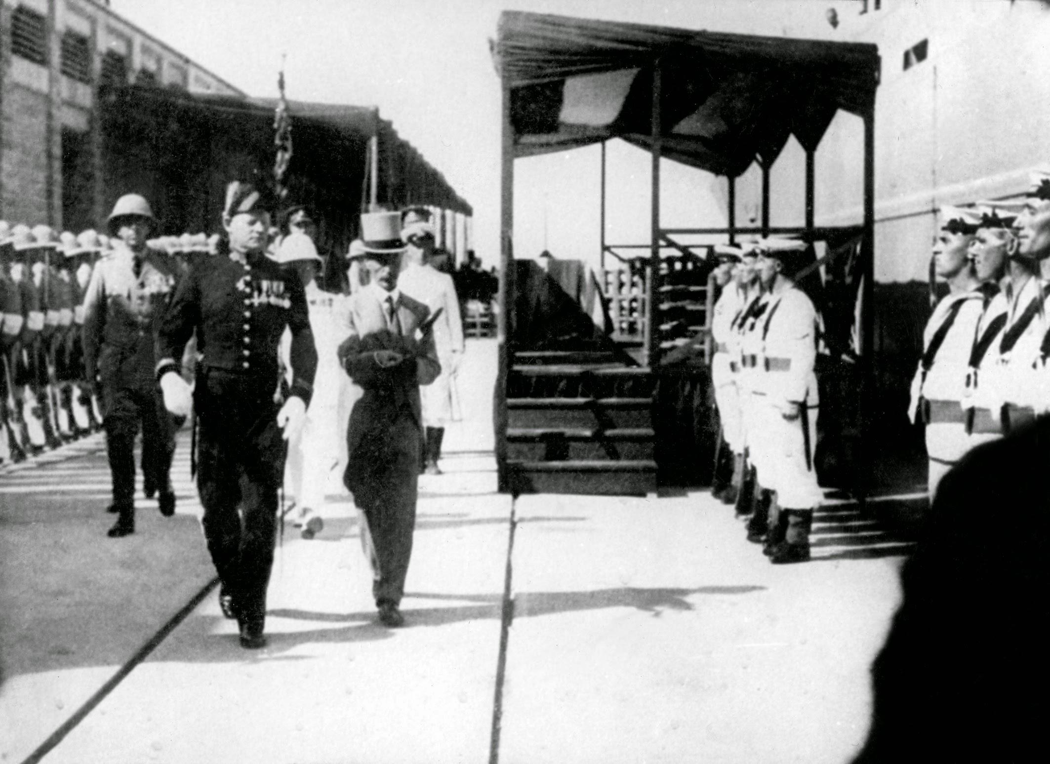 Британские войска покидают Хайфу