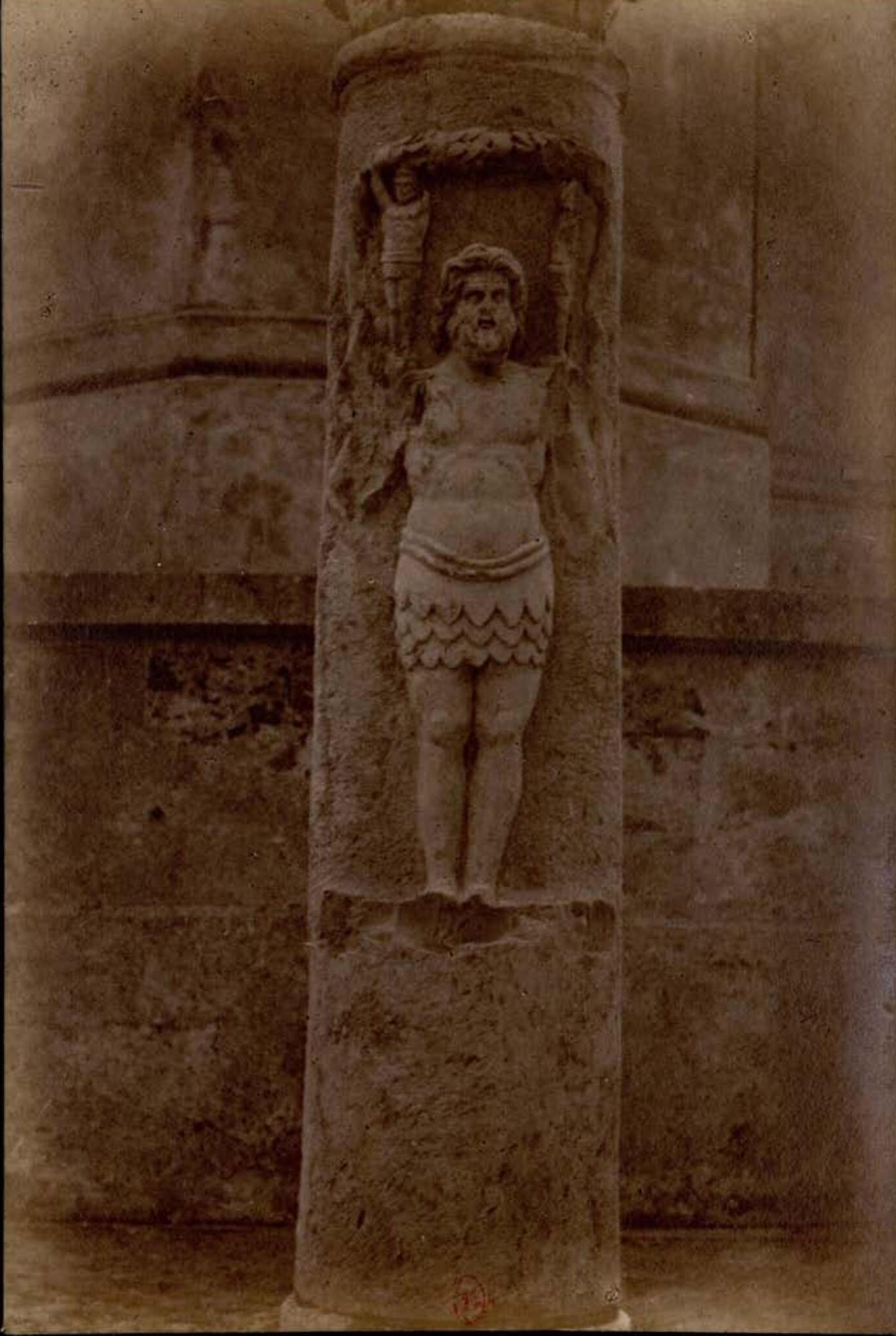 Археологическая миссия в Тунисе. Статуя