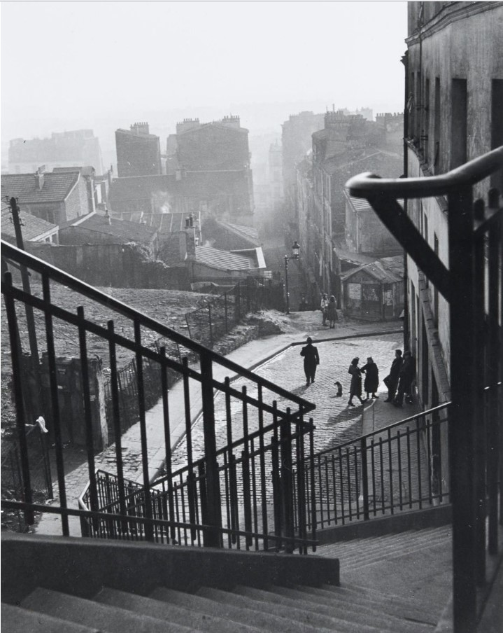 1948. Рю Вилен. Лестница