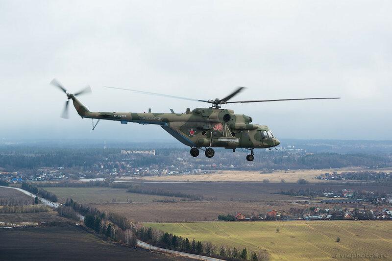 Миль Ми-8МТВ-5 (RF-24773 / 38 красный) ВКС России 064_D800164a