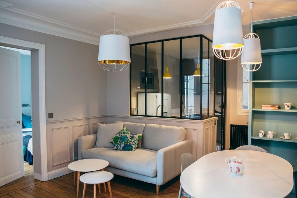 Небольшая квартира молодой семьи в Париже