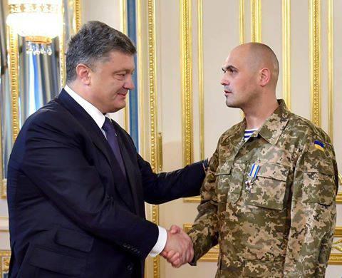 Порошенко наградил орденами и медалями 56 украинских воинов