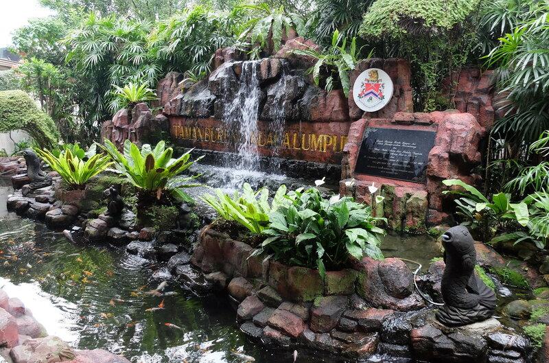 Парк  птиц в Куала-Лумпуре -
