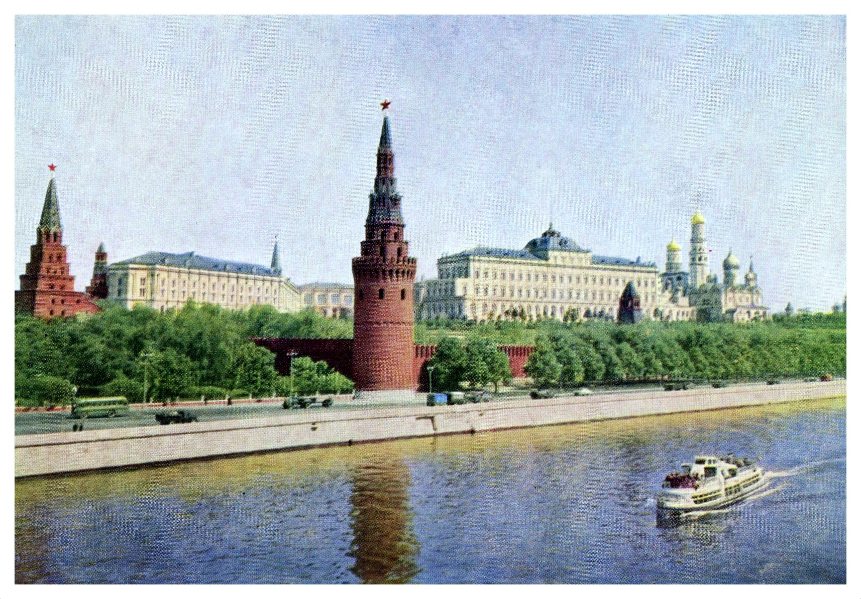 ZAVODFOTO / History of Russian cities in photographs: Moscow in the 1950s