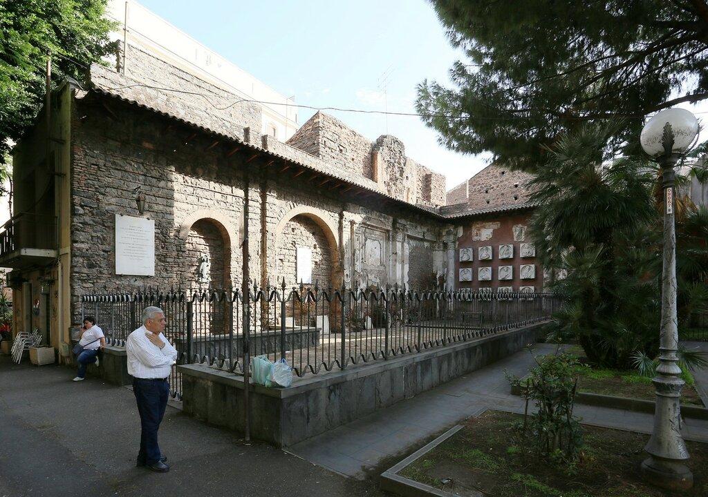 Church of St.Euplio ruins (Chiesa di Sant'Euplio), Catania