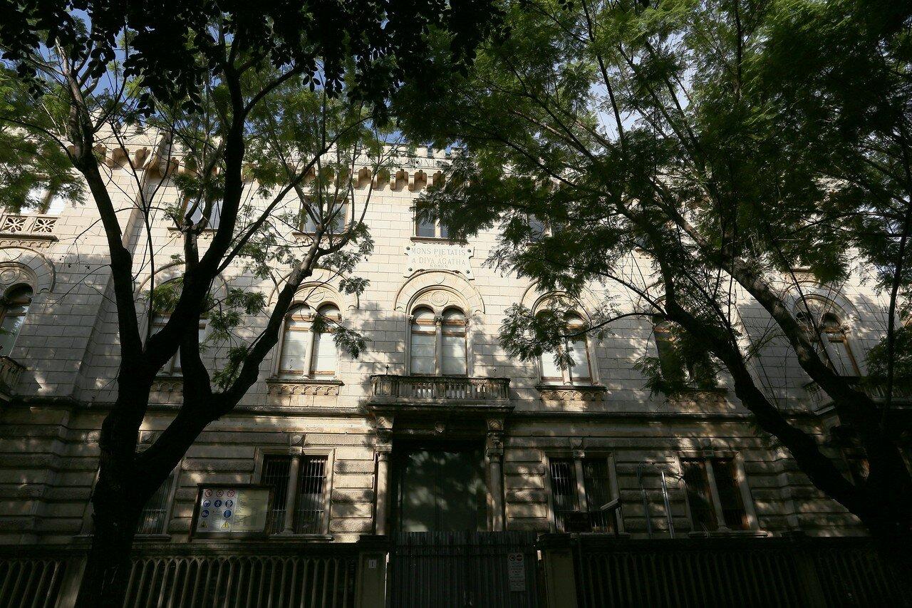 Bank of St.Agata building (Рalazzo ex Banca Monte di Pietà S.Agata), Catania