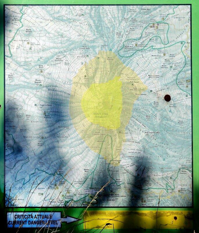 Этна. Николси Норд- Этна Сюд, Рифуджо Сапиенца (Nicolosi Nord-Ethna Sud, Rifugio Sapienza)