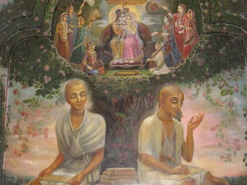 Вриндаван, садху вайшнавы Рупа и Санатана Госвами