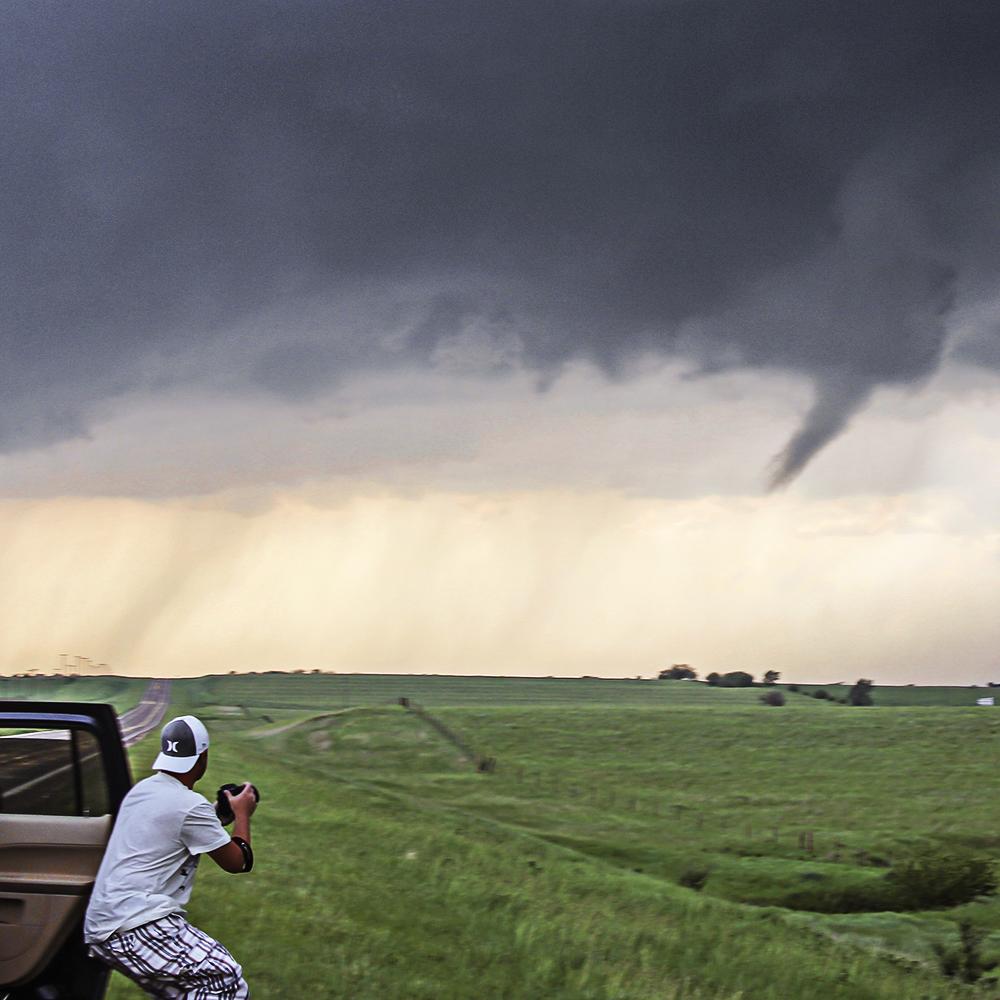 Охотник за бурями Джейсон Уэйнрайт (25 фото)