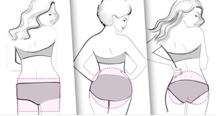 4 вида женской попы и лучшие упражнения для каждой! (5 фото)
