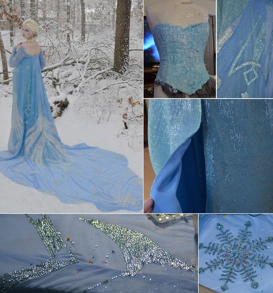 8. Это платье девушка создавала около 250 часов, 170 из них ушло на украшение наряда.