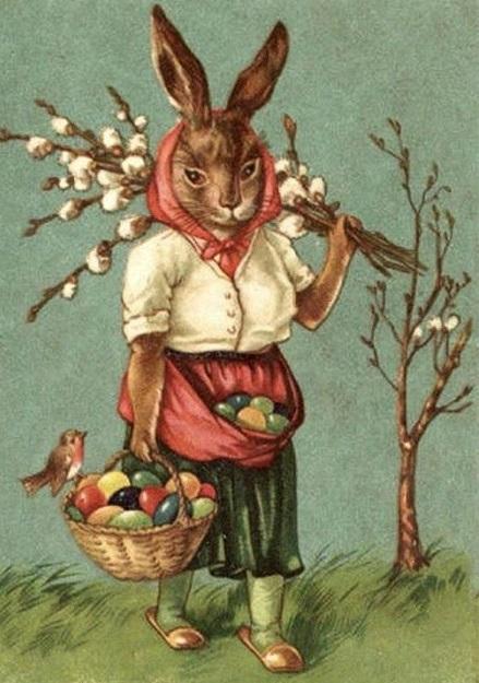 В Новом Свете о пасхальных кроликах узнали в конце XVIII века с прибытием переселенцев. В США с года