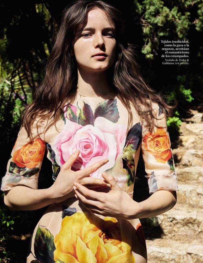 Анна де Рийк на страницах Vogue Spain (11 фото)