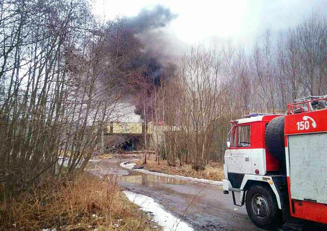 Назаводе вЧехии взорвалась цистерна свзрывчаткой