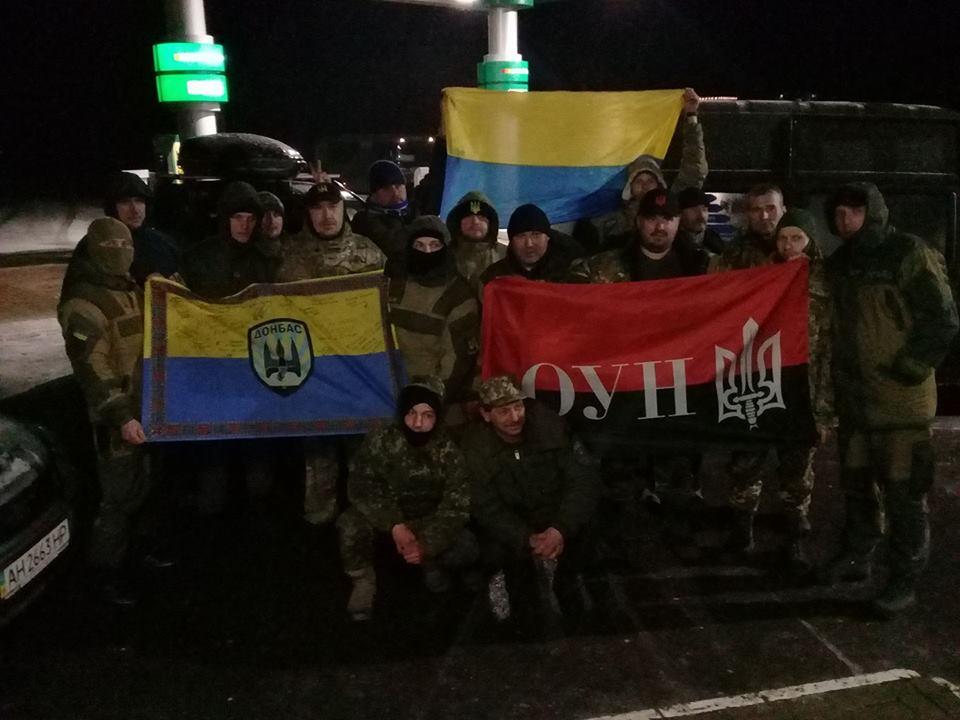 Участники блокады Донбасса поставили 1-ый редут под Мариуполем