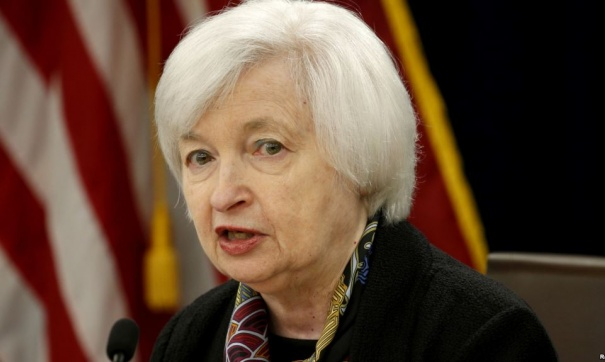 Руководитель ФРС Джанет Йеллен: североамериканская экономика находится вздоровом состоянии