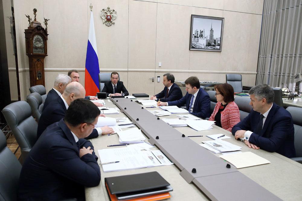 Медведев боится скачка инфляции из-за нефтяных допдоходов